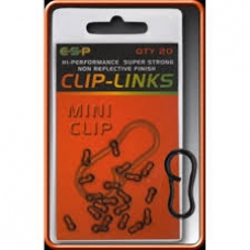 Esp Mini Clips New Clip Links Qty 20 carp Fishing
